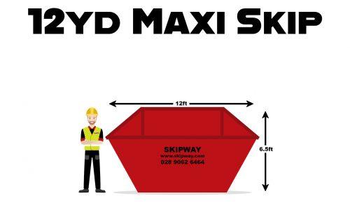 12yd³ Maxi Skip