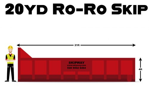 20yd³ Roll-On Roll-Off Skip