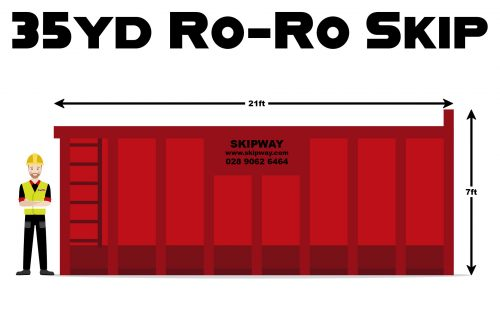 35yd³ Roll-On Roll-Off Skip