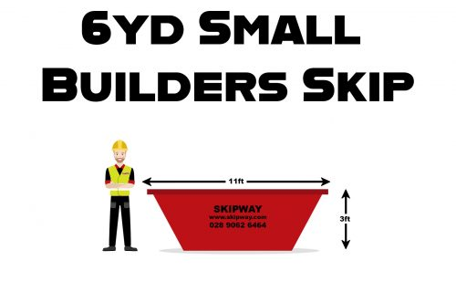 6yd³ Small Builders Skip