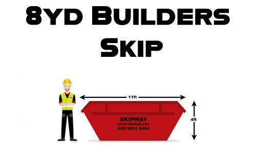 8yd³ Builders Skip